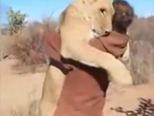 Cuando Él Abrió la Jaula del León Quedé Aterrorizado. ¡A los 22 Segundos Grité!