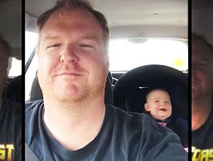 Las pequeñas risas de este Bebé son contagiosas!
