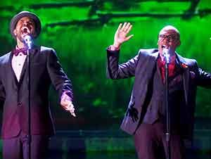 """Ellos audicionaron con un clásico de la música """"Gospel"""" que me dejo en lagrimas. Que bonita presentación!"""