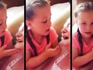 Ella hizo esto por su tatara abuela quien padece de demencia.