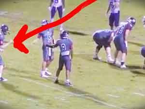Un joven con autismo anota un touchdown que te conmovera!