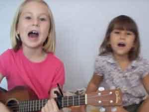 Hermanas cantan cancion que te derretirá el corazón
