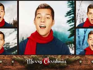 Canciones de Navidad cantadas a capella.