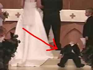 Momentos cómicos en las bodas