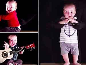 Grupo De Música De Un Solo Bebé