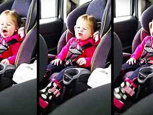 ¡Bebe de dos años imita a su cantante favorita!