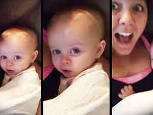 Bebé Responde A Su Mama De Manera Muy Tierna