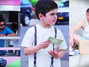 Niños Deciden Como Gastar Un Dólar. Hermoso