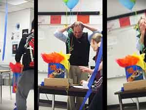 Sorpresa De Cumpleaños Para Un Profesor