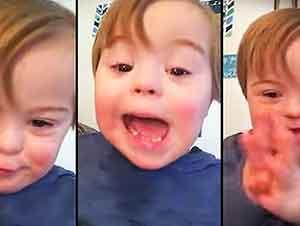 """Pequeñito Cantando El """"ABC"""" Es Lo Mas Lindo"""