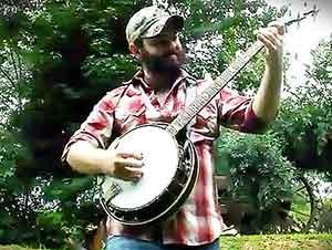 Himno Tradicional Tocado En El Banjo (Estilo Bluegrass)