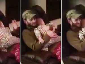 Bebita No Quiere Que La Dejen De Abrazar