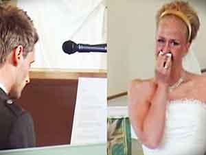 Completamente Sorprendida En El Altar… Mira Lo Que Hizo Su Futuro Marido!!!! :D