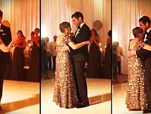 Esta Madre Le Concede Un Último Baile A Su Hijo En Su Boda Días Antes De Morir