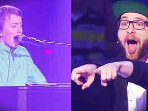 La Gran Voz Y Talento De Este Muchacho Dejó A Todos En La Audiencia Bailando Y Cantando….. WOW!!