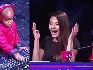 Niño De Tres Años Toca Como Todo Un DJ Profesional Frente A Una Gran Audiencia