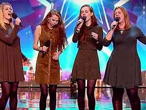 Madre E Hijas Cantan En Una Gran Audición