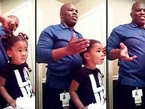 Hija Anima A Su Papá A Que Le Sigua Arreglando El Cabello
