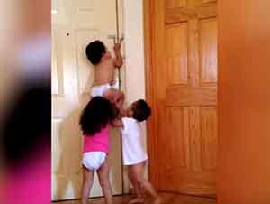 Bebés Son Expertos En Arreglarselas Para Escapar