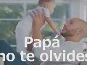 Papá serás mi ejemplo