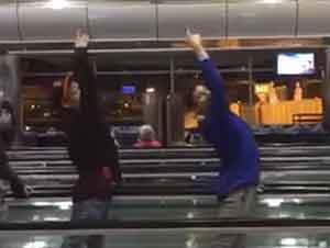 Ballet En El Aeropuerto