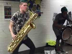 Musicos En El Metro De NYC