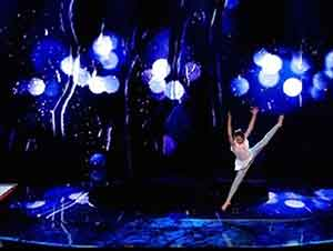 Niño Baila Ballet Increiblemente