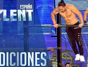 Desafiando las leyes de la Física| Audiciones 4 | Got Talent España 2016