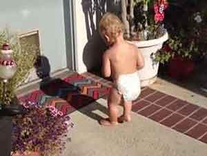 Bebés Descubren Su Sombra Por Primera Vez