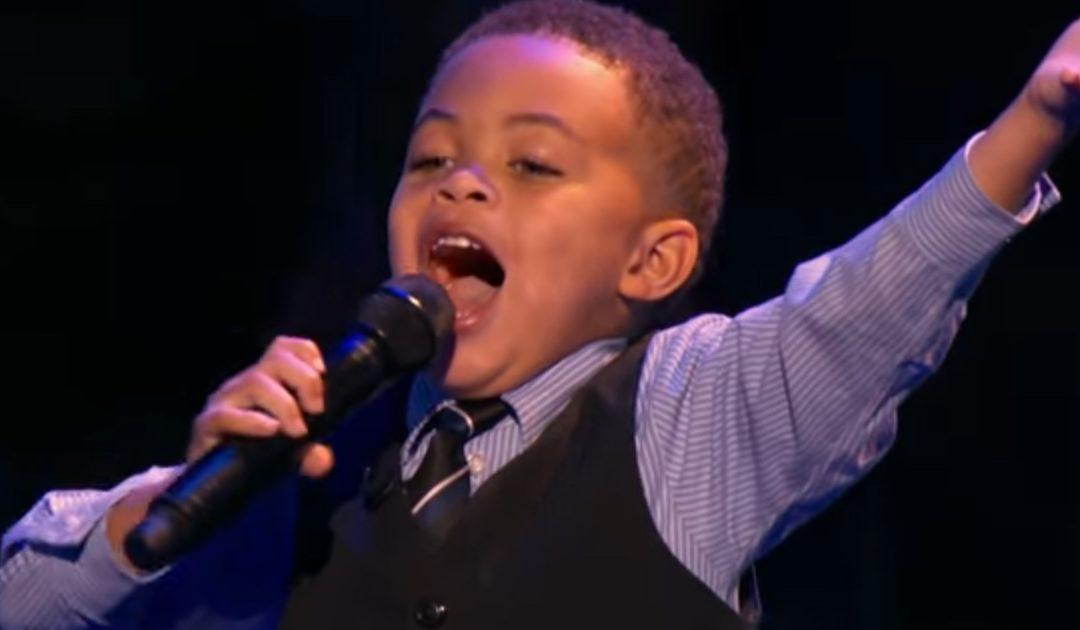 Bebé Con Talento Para Música Gospel